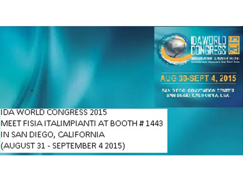 IDA WORLD CONGRESS 2015